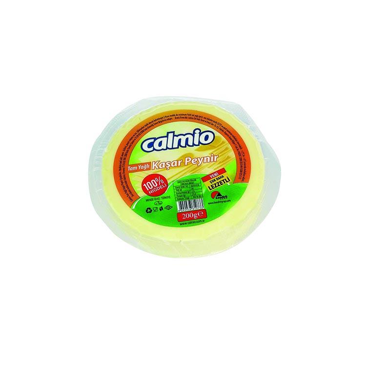 Calmio Tam Yağlı Taze Kaşar Peyniri 200g