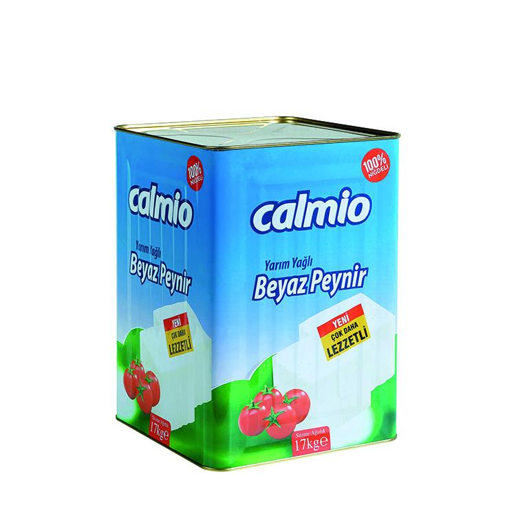 Calmio Yarım Yağlı Beyaz Peynir 17 kg