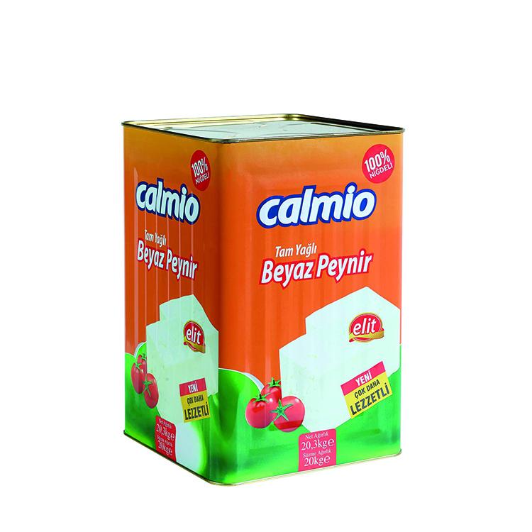Calmio Tam Yağlı Beyaz Peynir Elit 20 kg