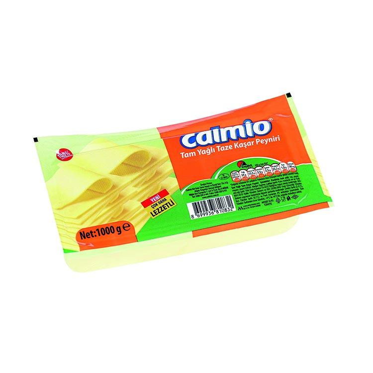 Calmio Tam Yağlı Taze Kaşar Peyniri 1 kg